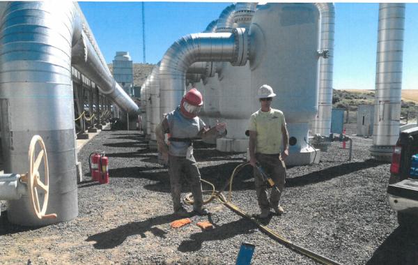 Natural Gas Valve Recoat
